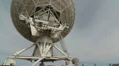 VLA Back Side Close Up Stock Footage