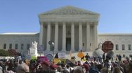 Obamacare Supreme Court Stock Footage