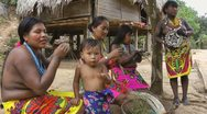 Stock Video Footage of Embera Women