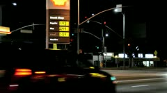 High Gas Prices 3 - stock footage