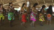Stock Video Footage of Embera Women Dance