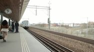 Stock Video Footage of Stockholm train station