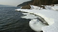 Icy water 012 Stock Footage