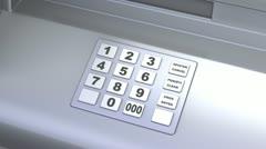 Pankkiautomaatti Arkistovideo