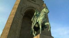 10670 emperor wilhelm monument germany Stock Footage