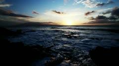 Hawaii Sunset Stock Footage