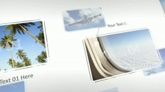 Elegant Flying Display - After Effects Template Stock After Effects