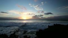 Oahu Sunset Hawaii - stock footage