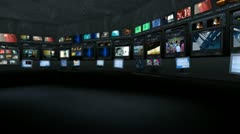Virtual studio 21 Stock Footage