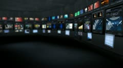 Virtual studio 17 - stock footage