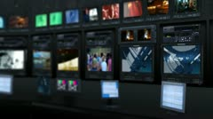 Virtual studio 18 - stock footage