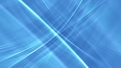 Blue background with white stripes - stock footage