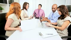 Advertising Consultants Team Meeting - stock footage