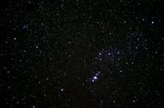 Stock Video Footage of 4K Astro Timelapse 12 Orion constellations and Meteors