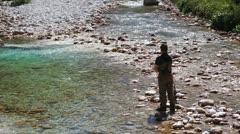 Fisherman Stock Footage