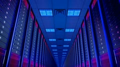 Data center Stock Footage