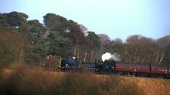 Steam engine Stock Footage
