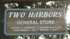 TWO HARBORS Stock Footage