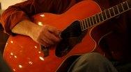 Stock Video Footage of guitar cu