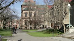 University 2 Stock Footage