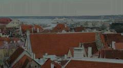 Old Tallinn Stock Footage