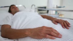 Patient waking up Stock Footage