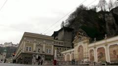 Festival Theatre Salzburg Stock Footage