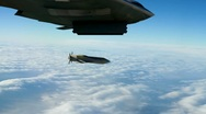 B-2 Bombing Stock Footage
