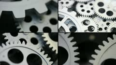 Gear system Stock Footage