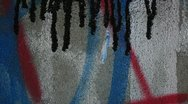 Graffiti art in the making _7 Stock Footage