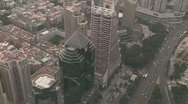 Stock Video Footage of Shenzhen from above