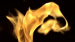 Fire, Slow Motion Stock Footage