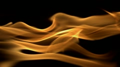Fire, Slow Motion - stock footage