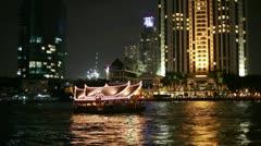 Bangkok boat Stock Footage