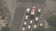Stock Video Footage of Cars crossing in Shenzhen
