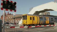 Level crossing Stock Footage