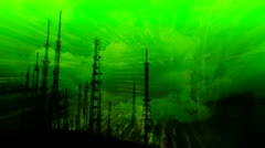 Transmitter Science and Technology background 1 Stock Footage