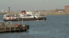 Mersey Ferry, Liverpool Stock Footage