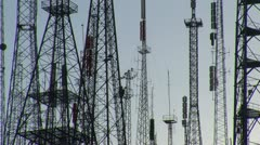 Transmitter Science and Technology background 8 Stock Footage