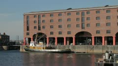 Albert Dock, Liverpool Stock Footage