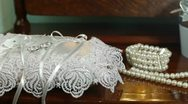 DOLLY: Bridal Accessories Stock Footage