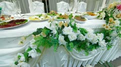 Wedding Reception Stock Footage