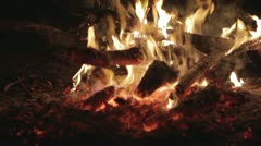 bonfire - stock footage