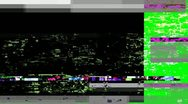 Digital Noise Montage Stock Footage