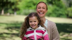 Stock Video Footage of Mother playing with her daughter