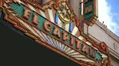 El Capitan Theatre 01 HD Stock Footage