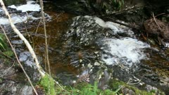 Waterfall In St Augusts Loch Ness Stock Footage