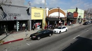 Stock Video Footage of Melrose Avenue 02 HD