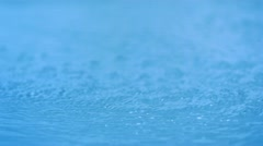 Water surface, Slow Motion - stock footage