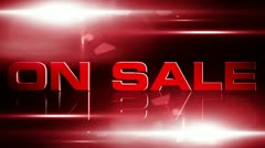 On Sale 02 Stock Footage